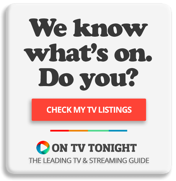 What's on TV tonight? Check my TV listings!